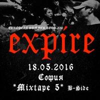 Американците Expire в София през май