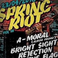 Днес A-Moral промотират новия си албум на Spring Riot III в София
