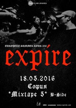Expire (САЩ), Redound, Overpain (Гърция)