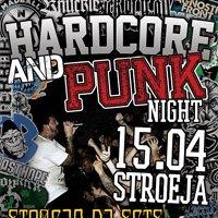 Hardcore and Punk Night - този понеделник в Строежа