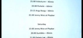 Oi! The Weekend 2 - Argy Bargy, Perkele, Volxsturm, Prins Carl - Karlskrona (Швеция) - Konsthall (ден първи)