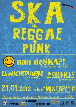 Nan deSKA?! (Хърватия), La Muchedumbre, The Shuffles