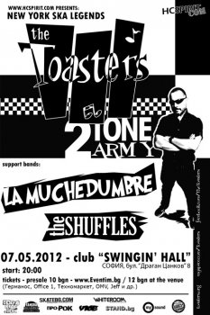 !!! THE TOASTERS (САЩ), La Muchedumbre, The Shuffles